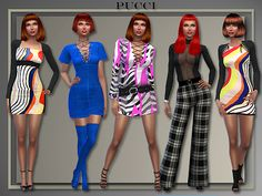 Sims 4 CC's - The Best: Dresses & Boots by AllAboutStyle
