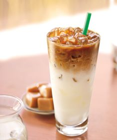 iced caramel macchiato | If you don't use a green straw, it doesn't count. Make it count.