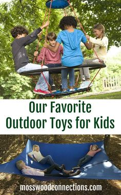 Our Favorite Outdoor Toys for Kids Twelve of our favorite outdoor toys that will keep you children moving and happy. Summer is on the way and it's time to go out and play with outdoor toys! #outdoors #toysforkids #summerfun