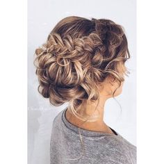 60 Trendy Latest Easy Hair Updos to Look Stunning This Summer ❤ liked on Polyvore featuring accessories and hair accessories