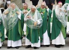 Catholic Priests are trying out the new Condoms...good friday they can't eat meat so they have Nun instead..
