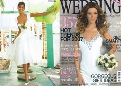 Wedding Magazine with Martha dress