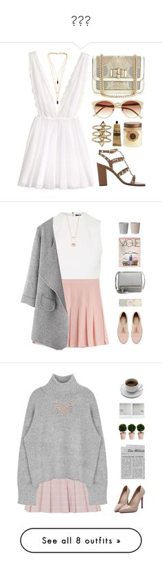 """""""♡♡♡"""" by lilinka1247 ❤ liked on Polyvore featuring H&M, Valentino, Christian Louboutin, Montane Designs, Rebecca Taylor, Vince Camuto, Aesop, Isabel Marant, Topshop and Alexis Bittar"""