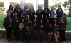 The ladies of Sigma Omega Nu at one of their national events.