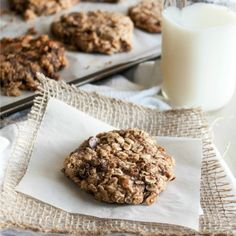 Quick and healthy breakfast cookies – a delicious and naturally gluten free and vegan breakfast!