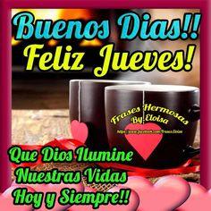 Buenos días feliz jueves