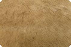 Solid Mink Faux Fur Fawn