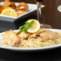 Pâtes et reste de poulet à la crème Pasta, Great Recipes, Chicken, Ethnic Recipes, Food, Cooking Recipes, Budget Recipes, Other Recipes, Poultry