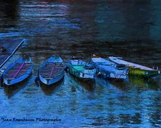 Boats on the Willamette River