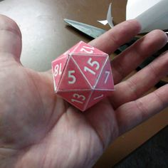 How to Make a Cardstock d20