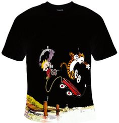 Calvin and Hobbes   T Shirt Design for Unisex by SimpleShirt, $16.00