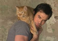 Ian Somerhalder from Vampire Diaries!! He just launched an Emergency Medical Care Grant for Animals! Check it out