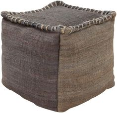 surya tonga pouf - Hand made of 100% jute with a marvelous coarse whip-stitching around the upper edge divinely constructed in natural rich hues. This piece embodies impeccable artistry while maintaining principles of affordability and durable design, making it the ideal accessory for your decor.