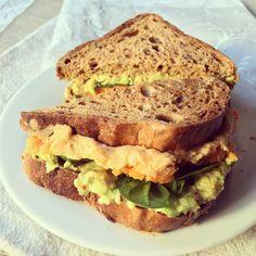 Sandwich patate douc