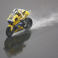 Rossi, and the rain