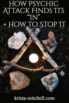 """How Psychic Attack Finds Its """"In"""" + How to Stop It - Alternative Medicine Magick Spells, Candle Spells, Luck Spells, Money Spells, Candle Magic, Spiritual Attack, Spiritual Power, Online Psychic, Psychic Development"""