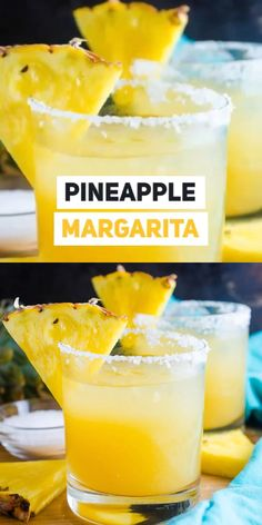 A Pineapple Margarita just screams tropical vacation and you'll be transported to your happy place when you make our super easy and super delicious recipe! Thanksgiving Drinks, Holiday Drinks, Summer Drinks, Beach Drinks, Pineapple Drinks, Pineapple Margarita, Pineapple Sangria Recipe, Tropical Margarita Recipe, Ultimate Margarita Recipe