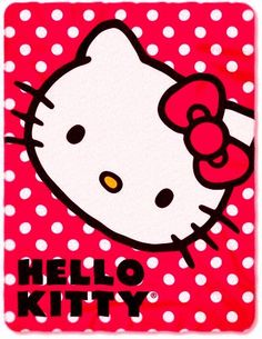 Hello Kitty Throw Blankets   The Blanket Store