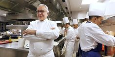 DUCASSE ALAIN - Recherche Google Chefs, Best Chef, Chef Jackets, Photos, My Favorite Things, Google, Image, Pink, Style