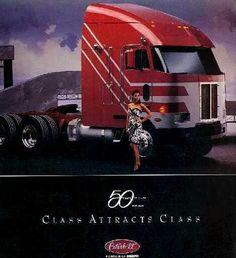 Peterbilt 379, Kenworth Trucks, Cool Trucks, Cool Cars, Big Trucks, Road Train, Train Truck, Cab Over, Custom Big Rigs