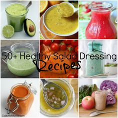 50+ DIY Salad Dressing Recipes ~ To Insanity & Back