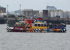 Razzle Dazzle Trip across the Mersey June 2015