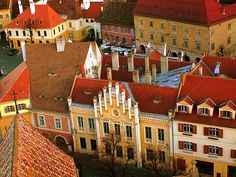 Sibiu, Romania - European Cultural Capital of 2007 Places Around The World, Around The Worlds, Sibiu Romania, Central And Eastern Europe, Cultural Capital, Famous Castles, European Tour, Bucharest, Travel Photos