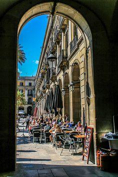 Placa Reial Barcelona Catalonia