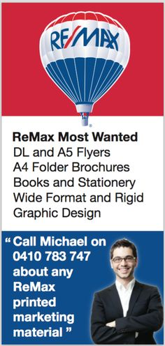ReMax Real Estate Agent Printing