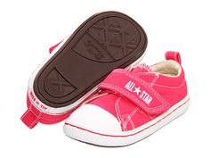 Converse Kids Chuck Taylor® All Star® Step Ox (Infant/Toddler) Raspberry - Zappos.com Free Shipping BOTH Ways