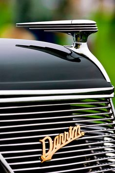 1937 Ford Model 78 Darrin Convertible Art Deco Hood Ornament by Jill Reger Retro Cars, Vintage Cars, Antique Cars, Car Badges, Car Logos, Art Deco, Art Nouveau, Ford 2000, Dream Cars