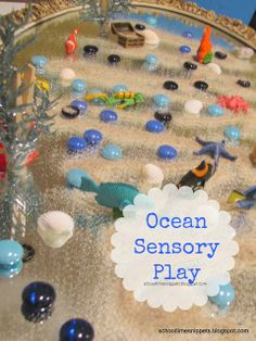 School Time Snippets: Ocean Sensory Play
