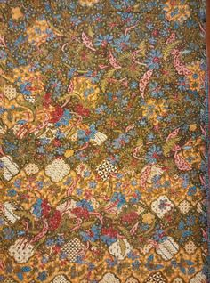 Batik ade baji/baby cloth origin solo 1950,color variety,very beautiful and most of ade baji batik has meticulous detail art work and color,truly fascinating to have a piece of this batik.