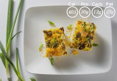 Savory Breakfast Casserole — Browse our sample menu of prepared organic, gluten-free meals delivered. More than 100 chef-prepared and nutritionally perfect meals from Metabolic Meals.