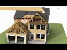 Custom Modular Home Animation - Watch how a modular home is assembled!