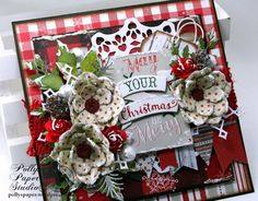 May Your Christmas Be Merry Greeting Card Polly's by PollysPaper