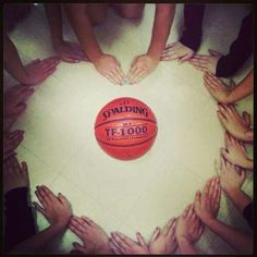 Basketball love...do this with all the shoes!!
