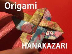 origami flower hanakazari chiyogami