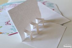 Making Pop Up Thank You Cards