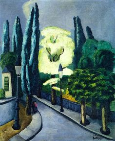 Max Beckmann:  Acacia in Bloom (1925)