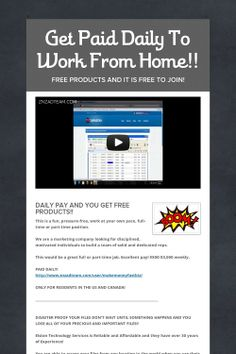 http://passiveincomesi.livejournal.com/541.html Some sites work well to create passive income while others are not as great.  Also, keep in mind.  Since each person is different, you experience my differ as well. For more information about make money online, work from home, search engine optimization, please visit http://passiveincomesitereviews.com/