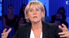 """Nadine Morano a mis mal à l'aise Laurent Ruquier quand elle a parlé de """"race blanche"""" pour définir la population française , sur """"On n'est pas couché"""""""
