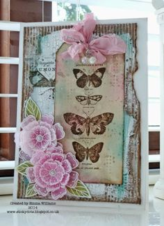 That's Life: Happy...Papillon stamp set http://stickydots.blogspot.com/2014/05/happy.html