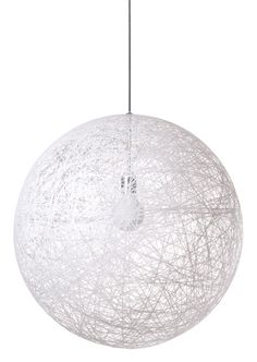 Studio Bertjan Pot A resin drained glass-fiber yarn is randomly coiled around a big balloon. Sounds simple but it took me 3 years to develop. Now sold trough Moooi in three sizes (50cm, 85cm and 105cm diameter.) all sizes sold through Moooi.