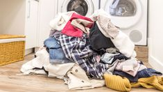Want to protect yourself and your family members from the coronavirus, especially if someone in your household is currently experiencing potential symptoms? Here's a tip directly from the CDC: Don't shake out your dirty laundry. Doing Laundry, Laundry Hacks, Laundry Table, Dry Cleaning At Home, Only Shirt, Handwashing Clothes, Wash Your Face, Clothing Hacks, Winter Coat