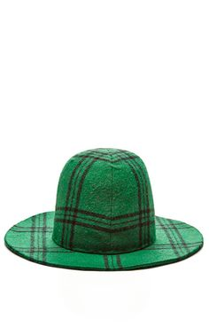 Evergreen Plaid Cuban by Tibi for Preorder on Moda Operandi