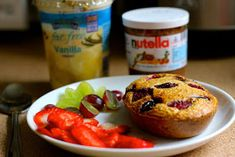 Slimming World Eats: Baked Oats not your average Diet Soup Recipes, Cooking Recipes, Fiber Rich Fruits, Sliming World, Slimming World Breakfast, Speed Foods, Baked Oats, Healthy Body Weight, Good Food