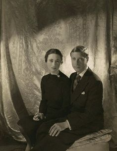 King Edward VIII and Wallis Simpson A really good picture of the two of them.