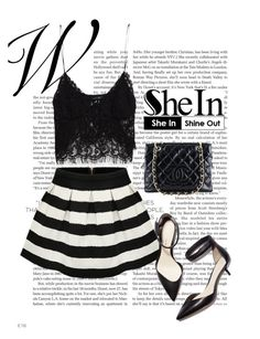 """Shein contest"" by merima-k ❤ liked on Polyvore featuring Zara, 3.1 Phillip Lim and Chanel"