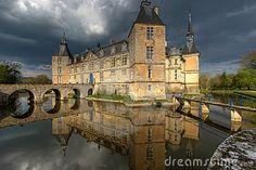 Chateau de Sully 01, Burgundy, France by Mihai-bogdan Lazar, via Dreamstime